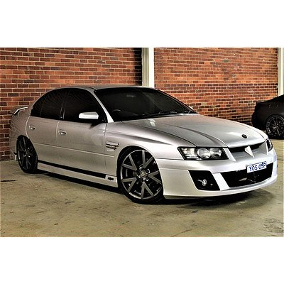 12/2004 Holden HSV Clubsport R8 VZ Series #189 4d Sedan Silver 6.0L V8