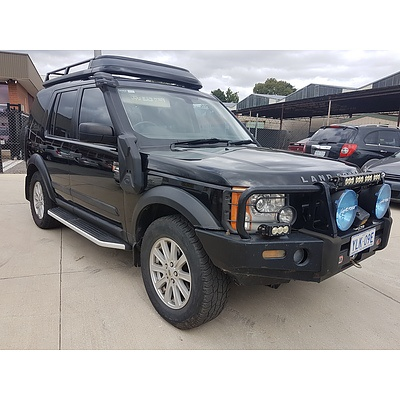 7/2006 Land Rover Discovery 3 SE MY06 UPGRADE 4d Wagon Black 2.7L