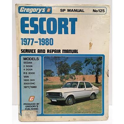 Gregory's - Ford Escort Service Repair Manual (1977-1980)
