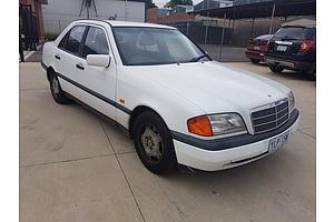 6/1995 Mercedes-Benz C180 Esprit  4d Sedan White 1.8L
