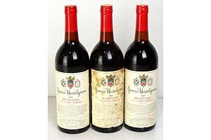 Haselgrove Mclaren Vale 1989 Futures Shiraz - Lot of Three Bottles (3)