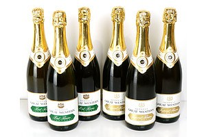 Seppelt Great Western Brut and Imperial Reserve Champagne - Lot of Six Bottles (6)