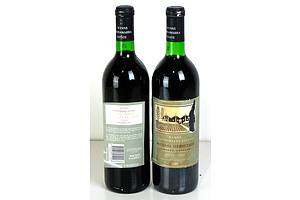 Wynns Coonawarra Limited Release Michael Hermitage 1990 - Lot of Two Bottles (2)