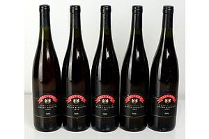 Tollana Eden Valley 1993 Rhine Riesling - Lot of Five Bottles (5)