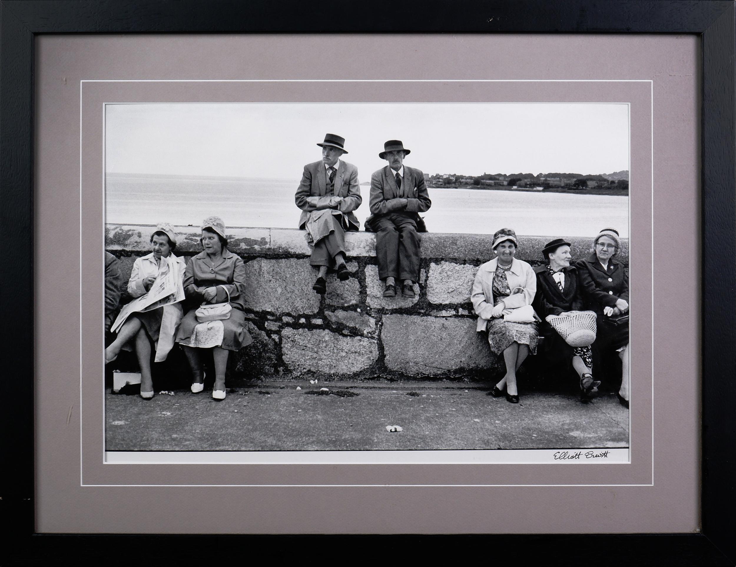 'Elliott Erwitt (born 1928, French/American), Dun Laoghaire, Ireland 1962, Black and White Photograph'