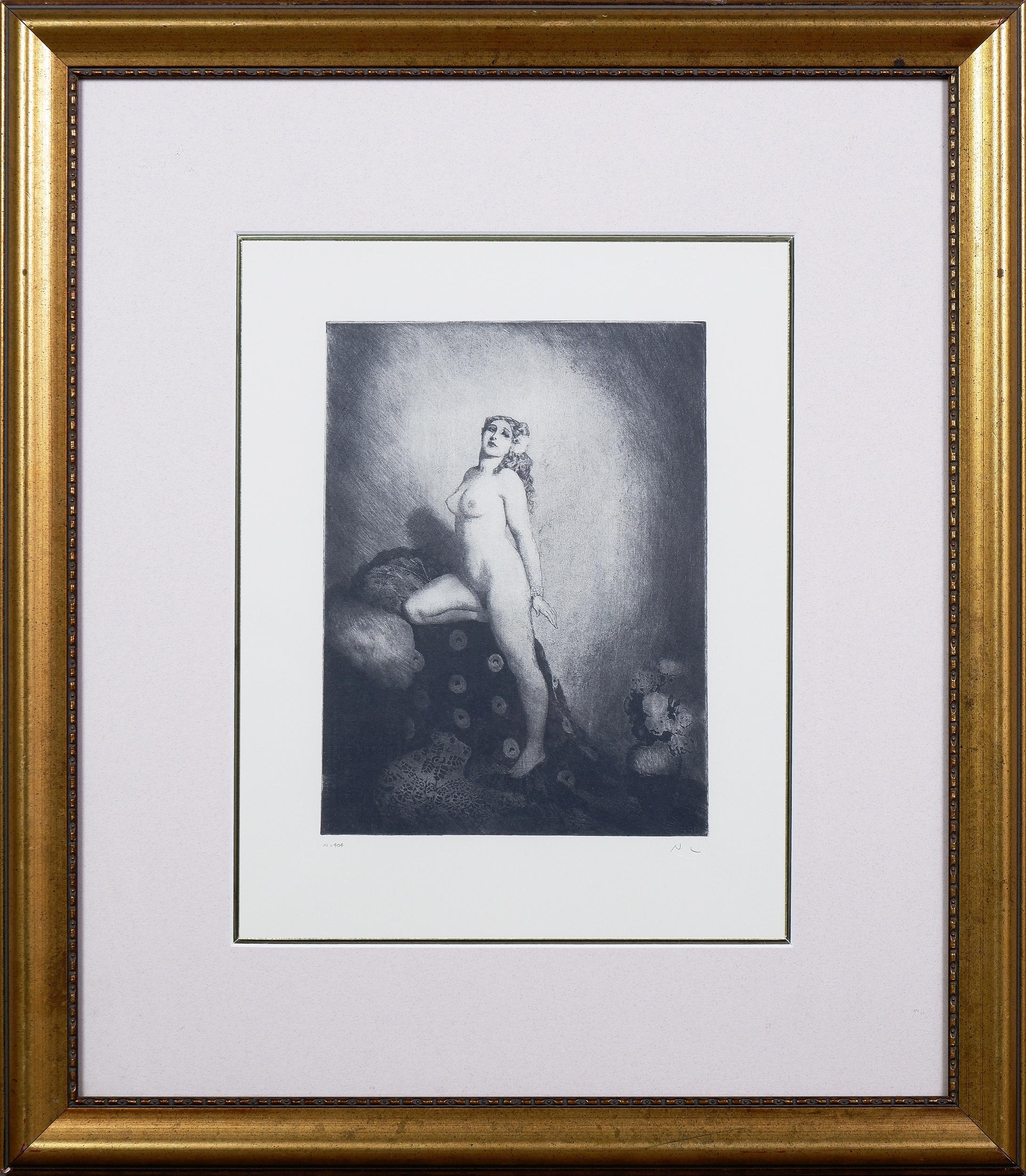 'Norman Lindsay (1879-1969), Memories, Facsimilie Etching'