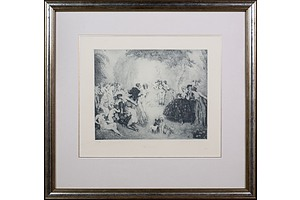 Norman Lindsay (1879-1969), Little Scandals, Facsimilie Etching