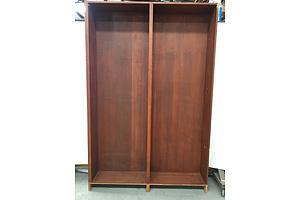 Timber Veneer Bookcase