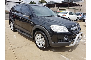 7/2009 Holden Captiva LX (4x4) CG MY09.5 4d Wagon Black 2.0L