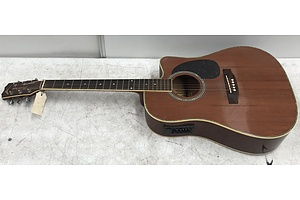 Kayne Electric/Acoustic Guitar