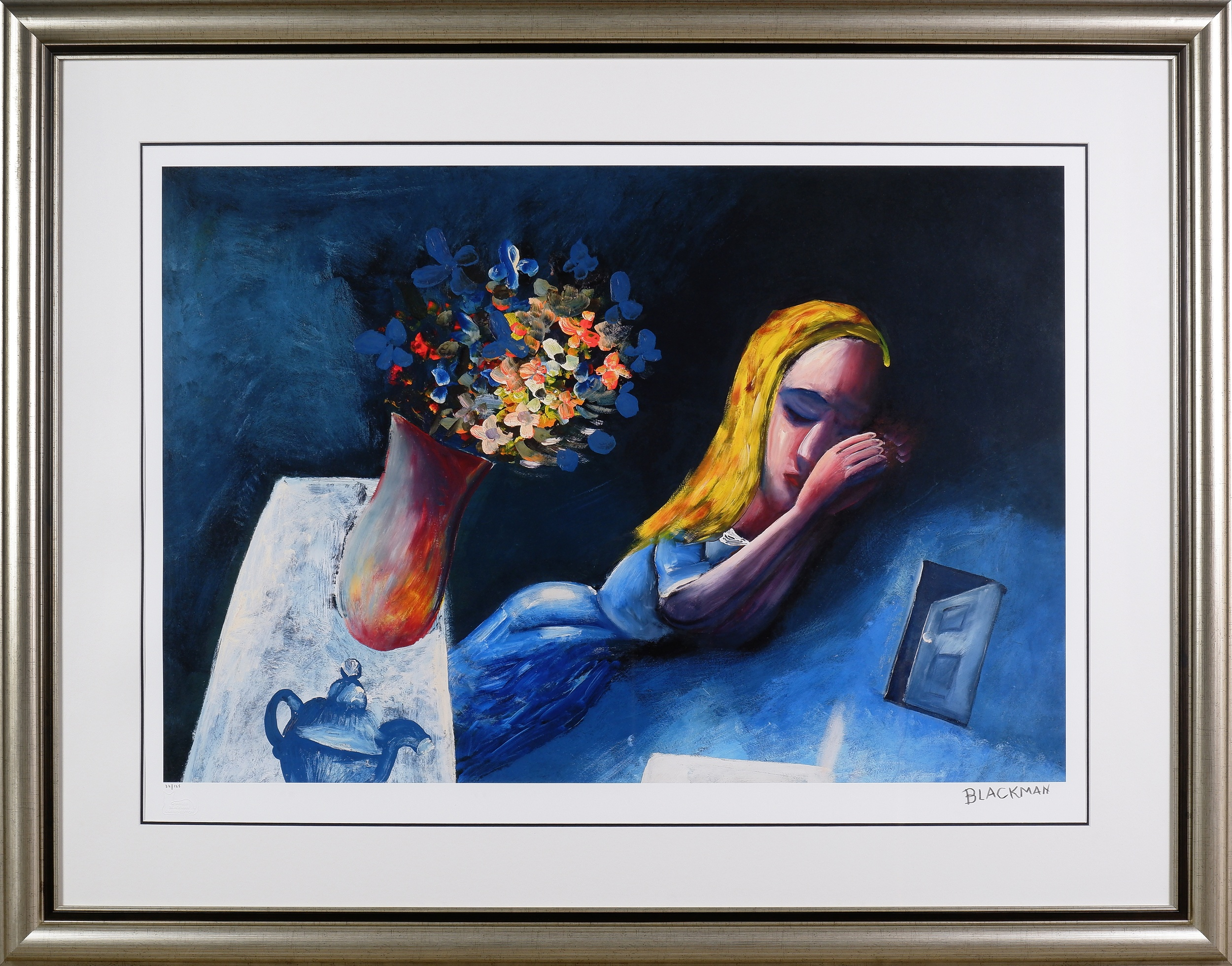'Charles Blackman (1928-2018) , Dreaming Alice, Archival Pigment Print'