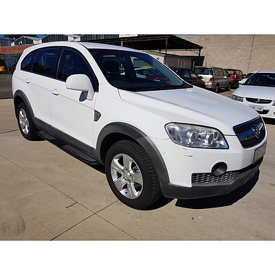 10/2007 Holden Captiva SX (4x4) CG 4d Wagon White 2.0L