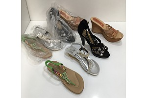 Womens Shoes In Country Road Bag - Lot Of 5