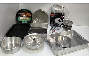 Sunbeam Beatermix Pro And Assorted Kitchenware - Lot Of 16