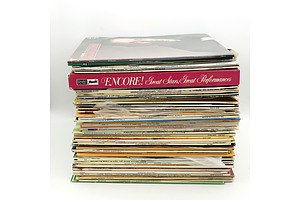 Large Collection of Records, Including The Seekers, Vivaldi, Elaine Paige and More