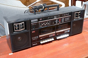 Retro National RX-CW26 Portable Stereo Component System