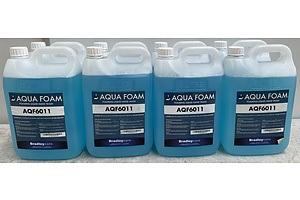 Aqua Foam Liquid Hand Wash 5 Litre - Lot Of 8