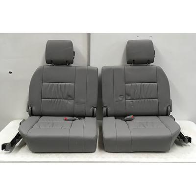 Landcruiser 100 Series 3rd Row Seating