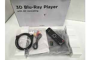 Kogan 3D Blu-Ray Player with 4k Upscaling