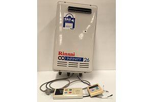 Rinnai Infinity 26 Natural Gas Hot Water Heater