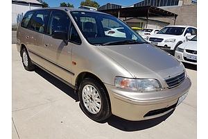 1/2000 Honda Odyssey (7 Seat)   4d Wagon Gold 2.3L