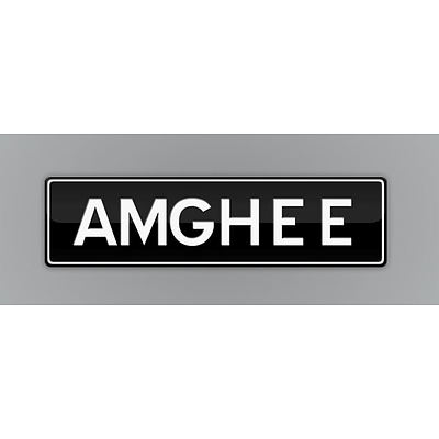 NSW Number Plates  AMGHEE