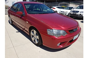 2/2007 Ford Falcon XR6 BF MKII 07 UPGRADE 4d Sedan Red 4.0L