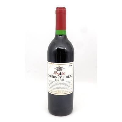 Penfolds Bin 389 Cabernet Shiraz - Vintage 1997 - Hand Numbered Bottle No 05094