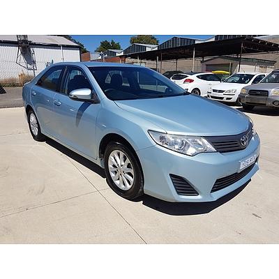 8/2013 Toyota Camry Altise ASV50R 4d Sedan Blue 2.5L
