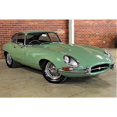 01/1966 Jaguar E-Type S1 4.2 Coupe Willow Green 4.2L