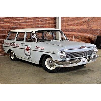 01/1963 Holden EJ Special Station Sedan Dulon Coolibah Grey 2.3L