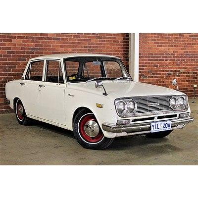 01/1968 Toyota Corona RT40 Sedan White 1.5L