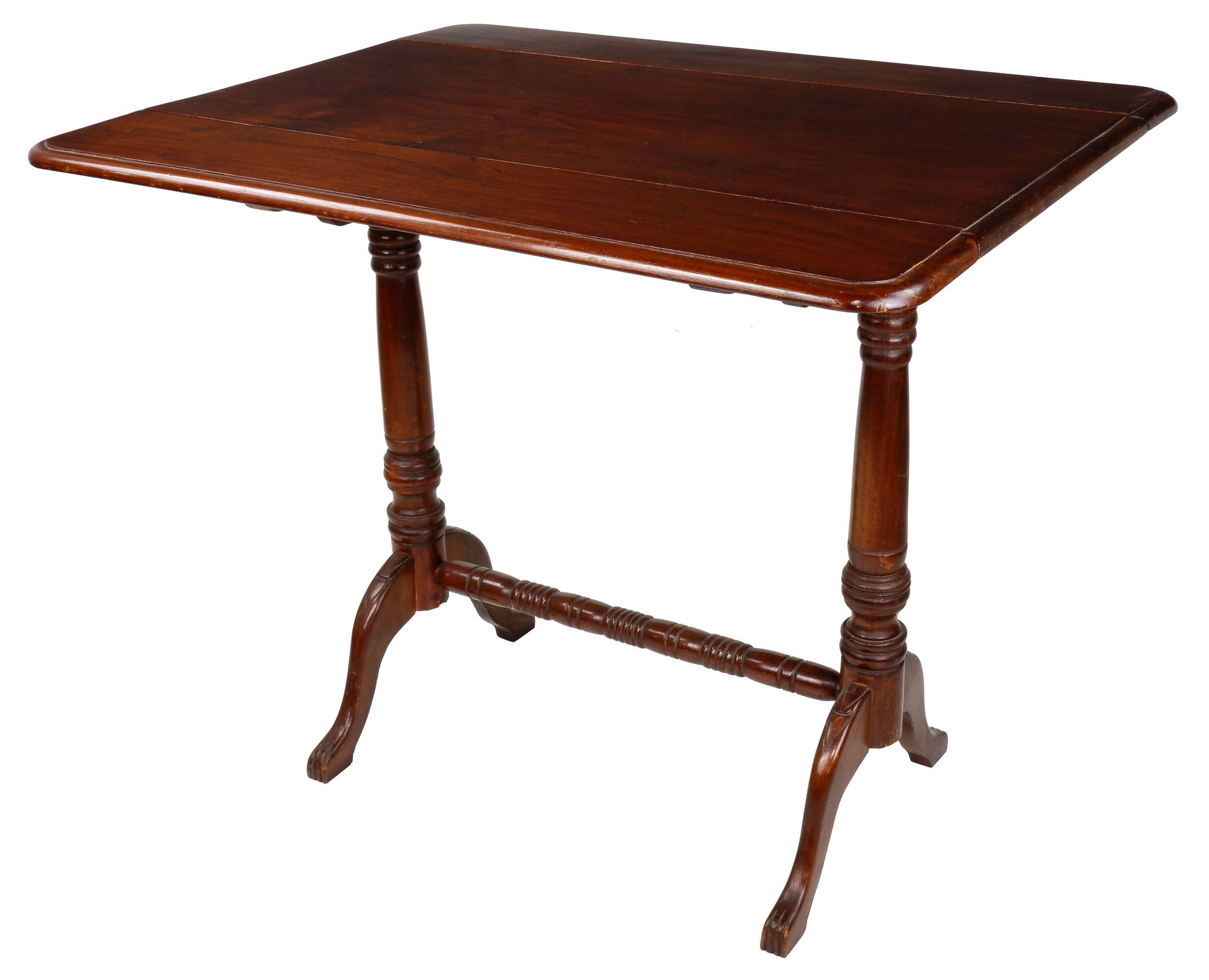 'Australian Cedar Pembroke Table, Mid 20th Century'