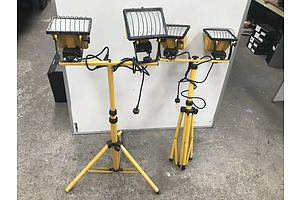 Arlec Twin Worklights -Lot Of Two