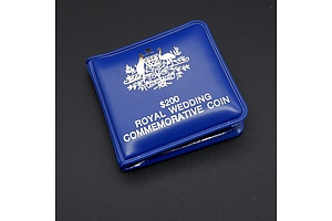 RAM 1981 22ct Gold $200 Royal Wedding Commemorative Coin