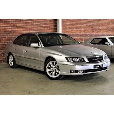 10/2003 Holden Caprice WK 4d Sedan Silver 5.7L V8