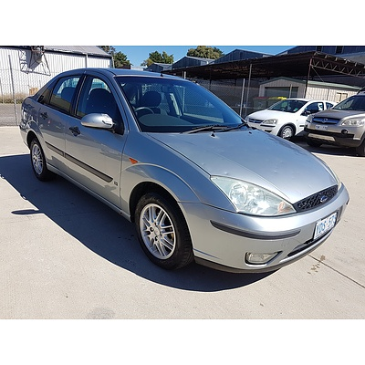 7/2003 Ford Focus LX LR 4d Sedan Silver 2.0L