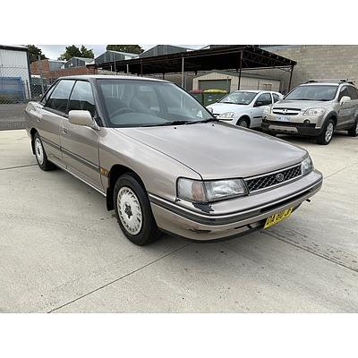 2/1991 Subaru Liberty GX  4d Sedan Gold 2.2L