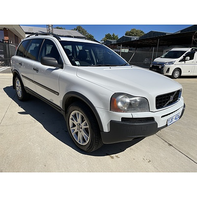 5/2006 Volvo Xc90 T6 Lifestyle Edition (LE) MY06 4d Wagon White 2.9L