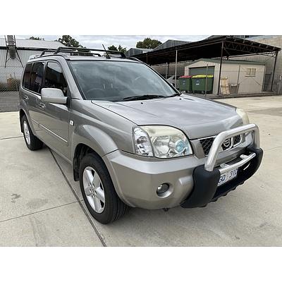 11/2004 Nissan X-trail Ti-L (sunroof) (4x4) T30 4d Wagon  2.5L