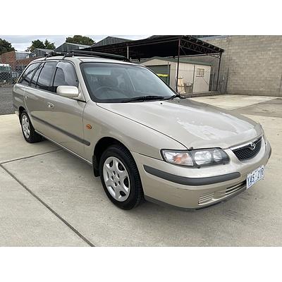 5/1999 Mazda 626 Limited  4d Sedan Beige 2.0L