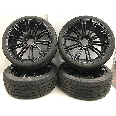 KMC 22 Inch Rims with Grenlander/Goform Tyres