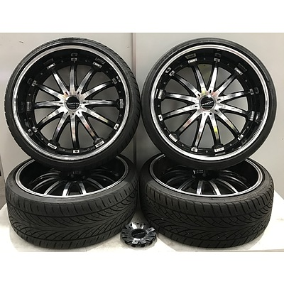 Destino 24 Inch Concept Luxury Wheels With Winrun Tyres