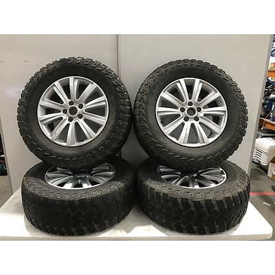 Volkswagen Amarok 18 Inch Wheels with Maxxis M/T Tyres