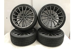 TSW 20 Inch Rims with Pirelli Tyres