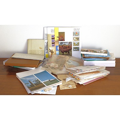 Large Collection of First Day Covers, Stamps and Stamp Bulletin Magazines