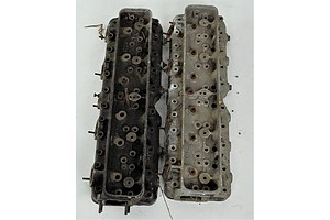 Two Cylinder Head Covers, Possibly for Rolls Royce Phantom Mk III V12