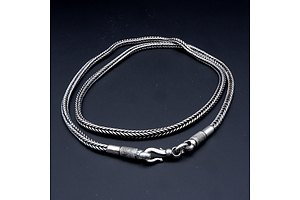 Indian Silver Fisherman's Belt, From Goa, 73g