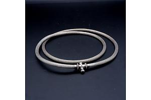 Indian Silver Fisherman's Belt, From Goa, 106g