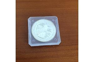 1990 1oz.999 Silver Australian Kookaburra Coin